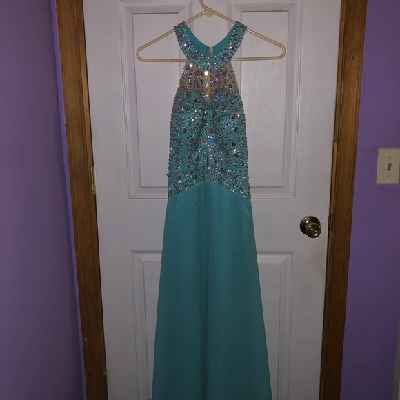 PromGirl Dresses & Skirts - Turquoise prom dress